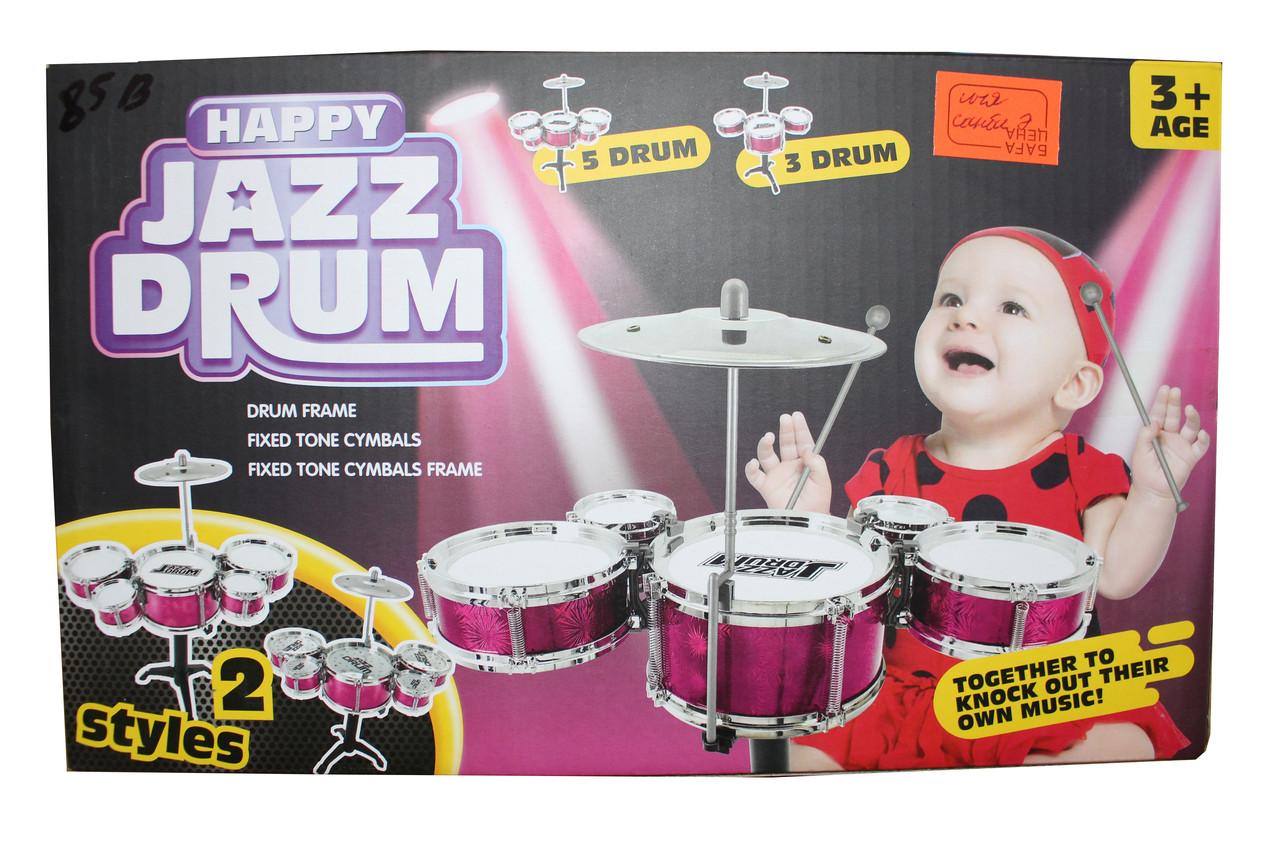 Счастливый джазовый барабанщик 85В