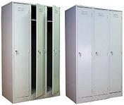 Металлические шкафы для хранения одежды