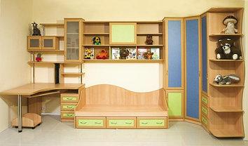 Детские кровати: двухъярусные кровати, односпальные кроватки, фото 2
