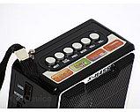 Радиоприемник NS-047U microSD USB FM (BS), фото 2