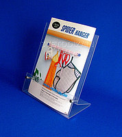 Подставка для буклетов (А4) с металлическими ограничителями. Модель: АС3-003