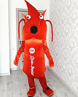Изготовление ростовых кукол в Алматы. Креветка