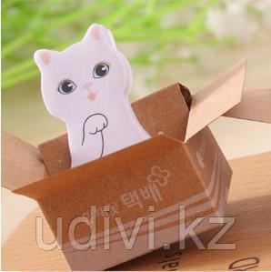 Стикеры Котик в коробочке