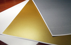 Пластик pvc  для струйной печати, листовой, А4. Белый, серебро, золото, в Алматы