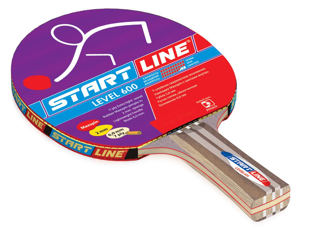 Теннисная ракетка Start line Level 600 (анатомическая)