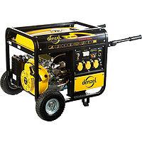 Генератор бензиновый DB5000Е, 4,5 кВт, 220В/50Гц, 25 л, электростартер DENZEL