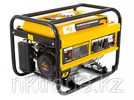 Генератор бензиновый GE 2500, 2,5 кВт, 220В/50Гц, 15 л, ручной старт DENZEL
