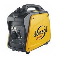 Генератор инверторный GT-2100i, X-Pro 2,1 кВт, 220В, бак 4,1 л, ручной старт DENZEL