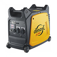Генератор инверторный GT-2600i, X-Pro 2,6 кВт, 220В, цифровое табло, бак 7,5 л, ручной старт DENZEL