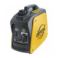 Генератор инверторный GT-950i, X-Pro 0,9 кВт, 220В, бак 2,1 л, ручной старт DENZEL