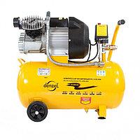 Компрессор воздушный, ресивер 50 литров, PC 2/50-350,  2,2 кВт, 350 л/мин,  DENZEL 58081