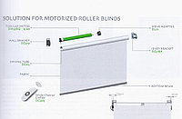 Ролл шторы электрические на пульте в Наличии