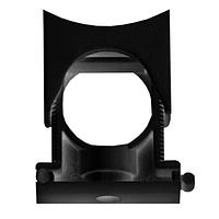 DKC Держатель раздвижной с крышкой DN 10-17 мм, полиамид, цвет чёрный