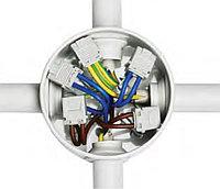 DKC Коробка ответвит. с кабельными вводами, IP44, д.65х35мм (розница), фото 1