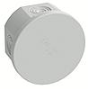DKC Коробка ответвит. с кабельными вводами, IP44, д.80х40мм