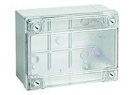 DKC Коробка ответвит. с гладкими стенками, прозрачная, IP56, 120х80х50мм, фото 1