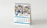 Изготовление,печать календарей с логотипом, Квартальные календари, настольные календари, календарь домик