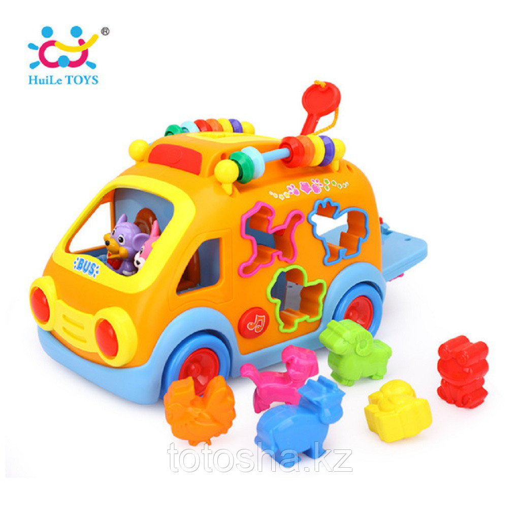 Huile toys Веселый автобус