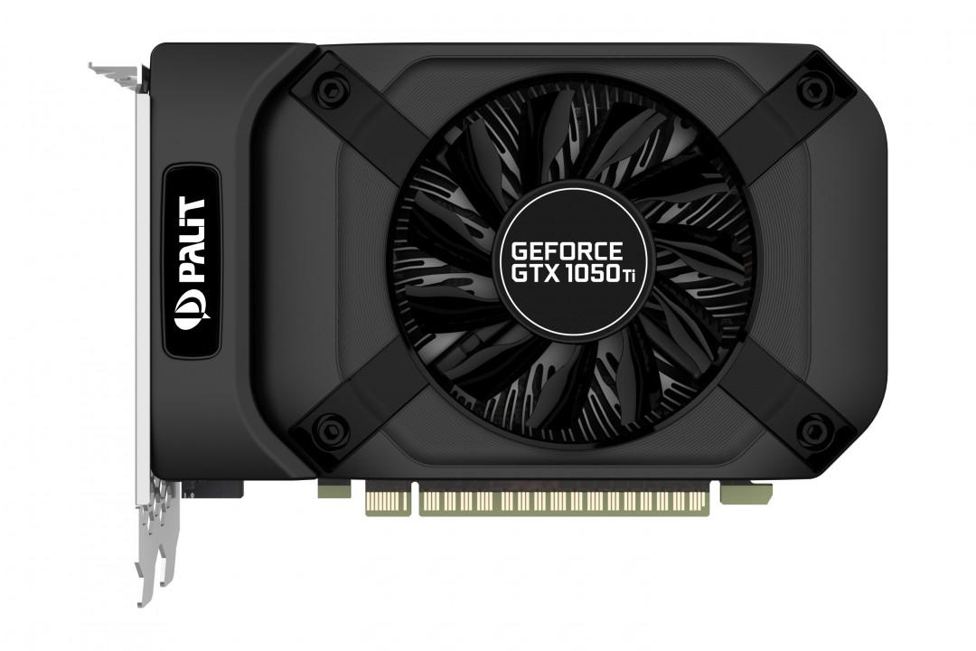 Видеокарта VGA PCIE16 GTX1050TI 4GB GDDR5 PA-GTX1050TI STORMX 4G PALIT