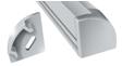 Заглушка для профиля ЛПУ17 без отверстия ЗПУ