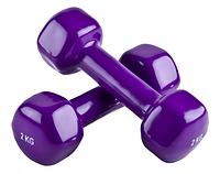 Гантели для фитнеса 4 кг (2 кг + 2 кг)