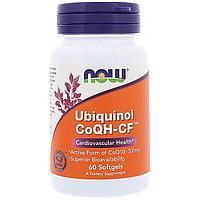 Убихинол. Ubiquinol CoQH-CF 60 капсул