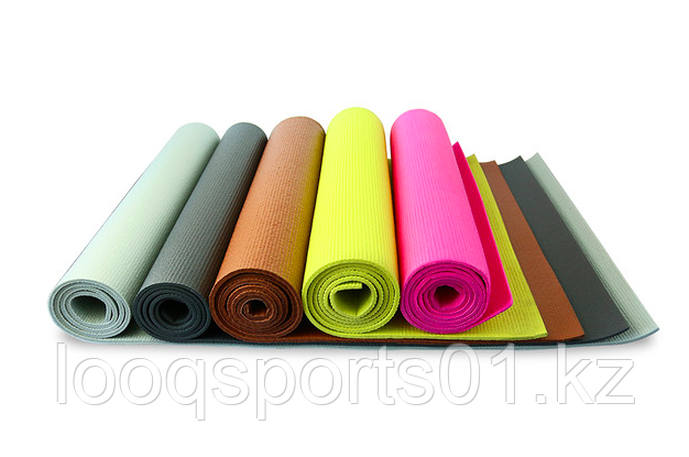 Коврик для йоги (йога мат,каремат) и фитнеса 173х61х0.5 (без сумки) - фото 1