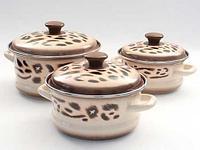 Набор эмалированных кастрюль Сафари