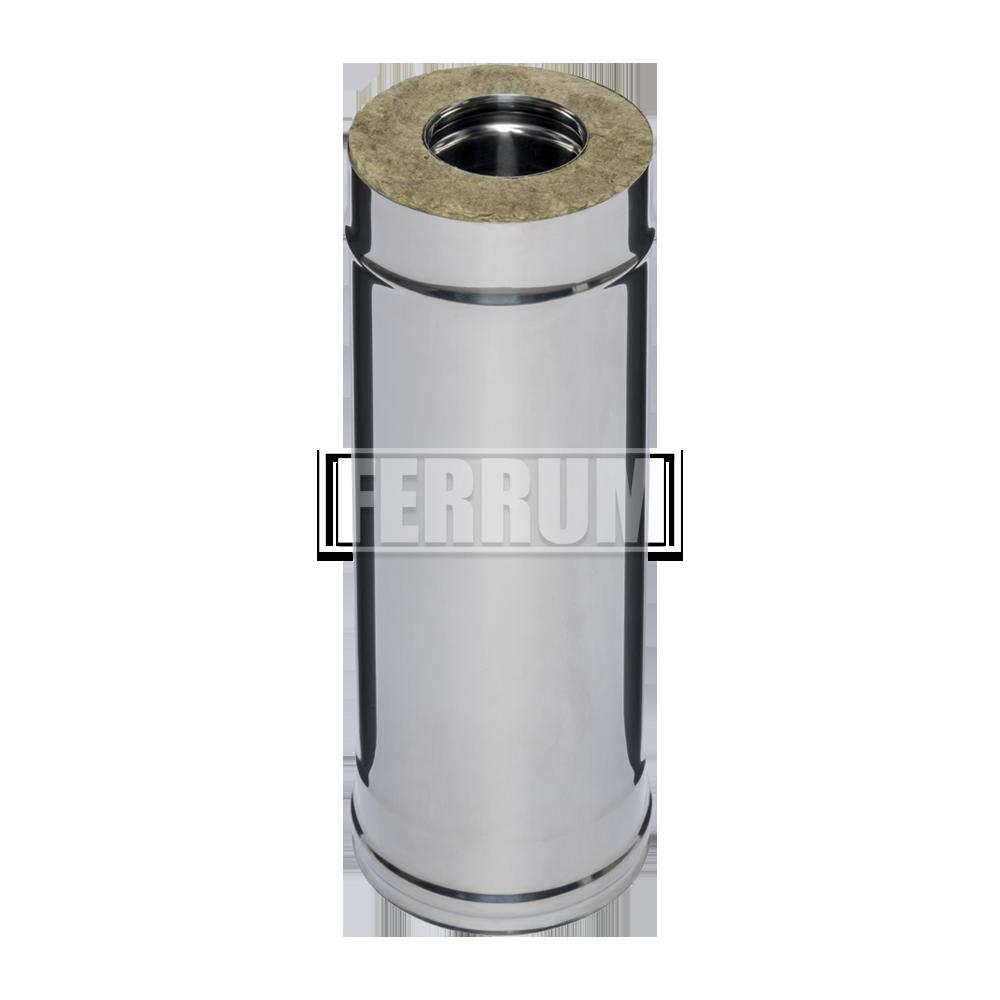 Дымоход Ferrum Сэндвич из нержавеющей стали 430/0,5 мм 500мм, Ф120х200