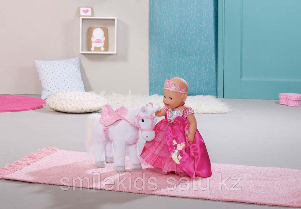 Интерактивная лошадка Baby Born, белая