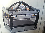 Детский манеж - кроватка Chicco Lullaby LX, фото 6