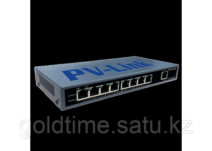 9 портовый PoE коммутатор PV-Link PV-POE08M1
