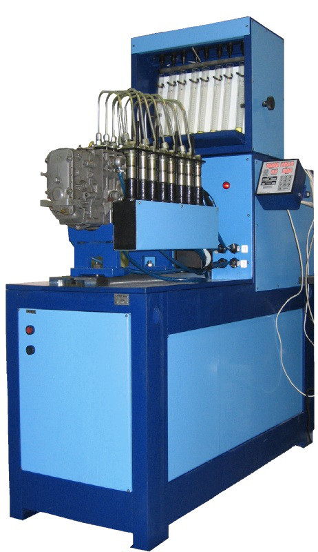 Стенд для испытания дизельной топливной аппаратуры СДМ-8-3,7М, мерный блок с электромагнитными клапанами Бонус