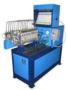 Стенд для испытания дизельной топливной аппаратуры СДМ-12-01-18 (с встроенной станцией подкачки) Бонус
