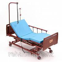 Четырехсекционная функциональная кровать DB-6 WOOD (Дельта-6) с гибридным, электрическим и механо- приводом