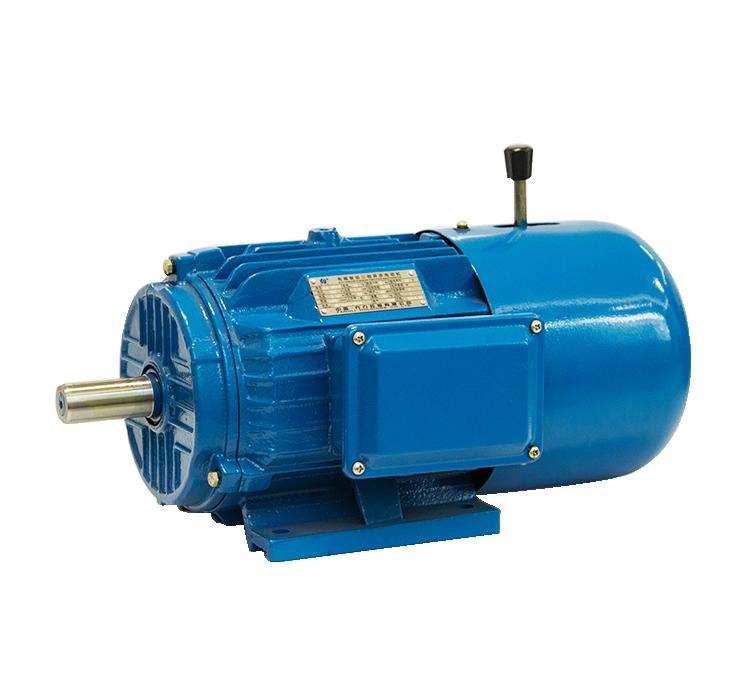 Трехфазный асинхронный двигатель с электромагнитным торможением серии YEJ