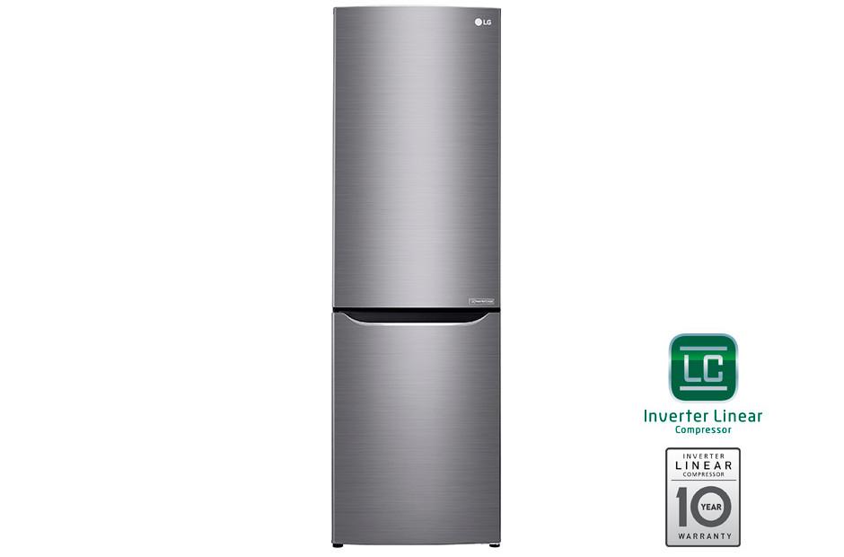 Холодильник LG GA-B429SMCZ c Инверторным Линейным компрессором. Цвет: Серебристый