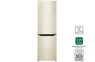 Холодильник LG 429 SECZ бежевый c Инверторным Линейным компрессором