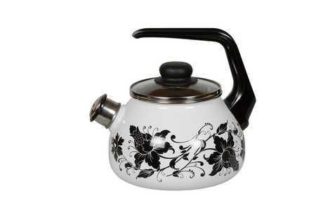 Чайник эмалированный со свистком Tango 2 литра