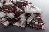 Листья шоколадные ,мраморные!