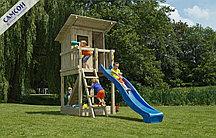 Детская игровая деревянная площадка Пляжный домик@Beach Hut