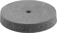 Круг ЗУБР абразивный шлифовальный, d 22x1,7х4,0мм