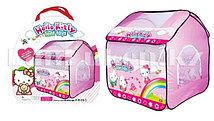 Детская игровая палатка домик автомат Hello Kitty 109x103x116 см