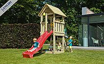 Детская игровая деревянная площадка КИОСК@KIOSK