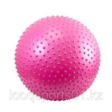Гимнастический мяч с пупырышками (фитбол) 75 см