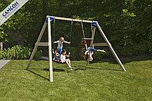 Детская игровая деревянная площадка ФРИСВИНГ@FREESWING