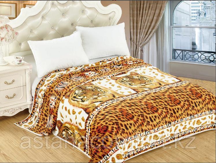 Плед - Покрывало на кровать. Велсофт 220х240 см