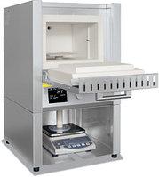 Муфельная печь с интегрированными весами (EW-2200 или EW-6200) и программой с откидной дверцей L 9/11/SWL