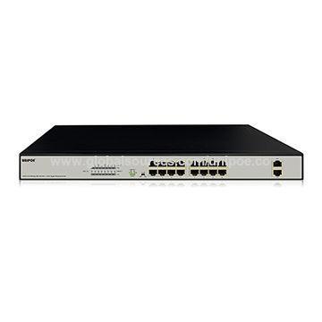 Коммутатор UNIPOE PM3018FSN-330 V2 (16 PoE + 2 Uplink)