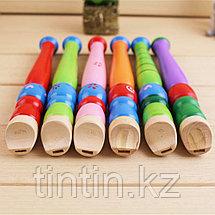 Детская деревянная Флейта, фото 3
